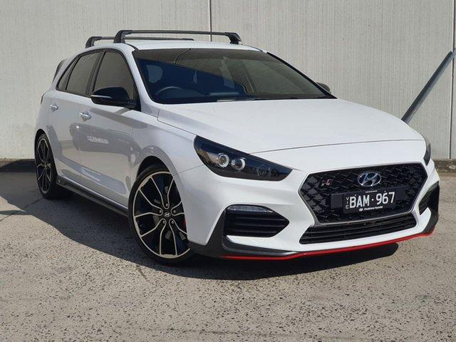 Used Hyundai i30 PDe.2 MY19 N Performance Oakleigh, 2019 Hyundai i30 PDe.2 MY19 N Performance White 6 Speed Manual Hatchback