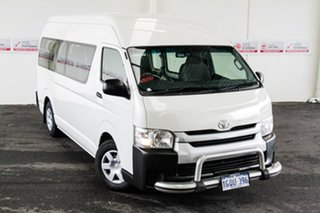 2016 Toyota HiAce KDH223R MY15 Commuter French Vanilla 4 Speed Automatic Bus.