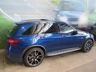 2016 Mercedes-AMG GLC43 253 MY17 Blue 9 Speed Automatic G-Tronic Wagon.