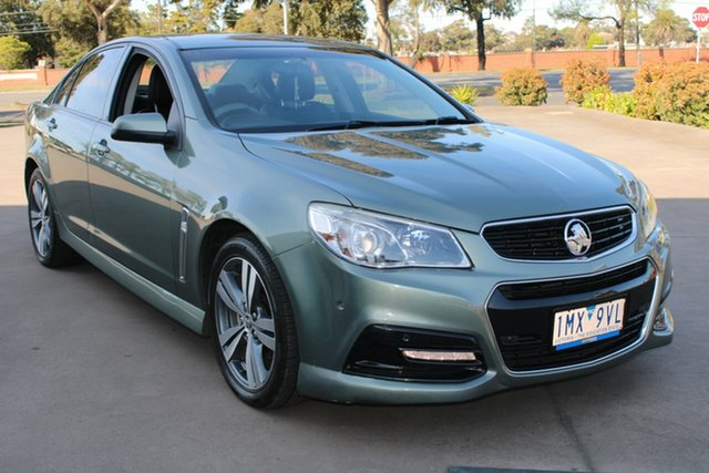 Used Holden Commodore VF SV6 West Footscray, 2013 Holden Commodore VF SV6 Grey 6 Speed Manual Sedan