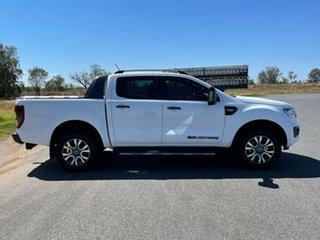 2018 Ford Ranger PX MkIII 2019.00MY Wildtrak Frozen White 6 Speed Sports Automatic Utility.