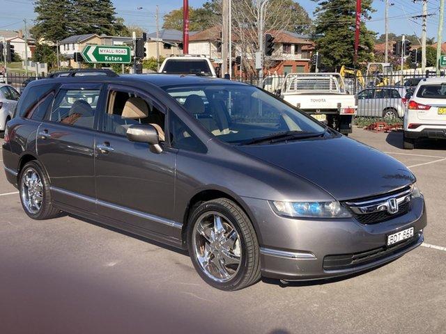 Used Honda Odyssey 3rd Gen MY07 Luxury Cardiff, 2007 Honda Odyssey 3rd Gen MY07 Luxury Graphite 5 Speed Sports Automatic Wagon