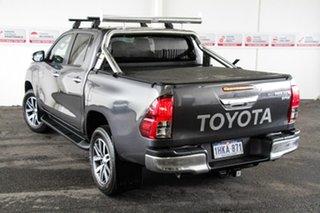 2015 Toyota Hilux GUN126R SR5 (4x4) Graphite 6 Speed Automatic Dual Cab Utility.