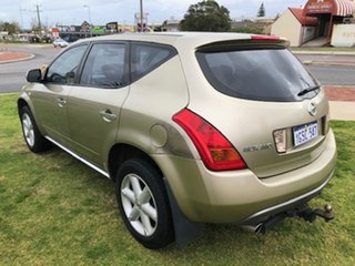 2008 Nissan Murano Z50 ST Gold 6 Speed Constant Variable Wagon