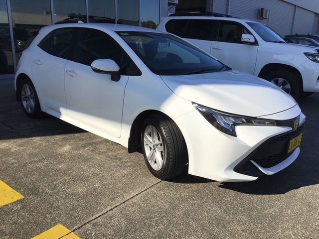 Used Toyota Corolla Mzea12R Ascent Sport Cardiff, 2019 Toyota Corolla Mzea12R Ascent Sport White 10 Speed Constant Variable Hatchback