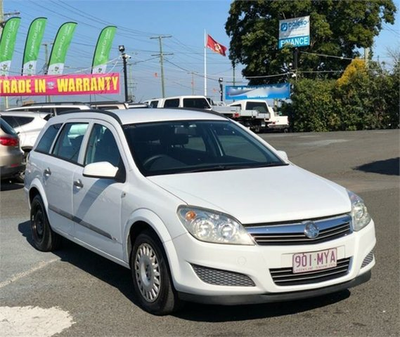 Used Holden Astra AH CD Archerfield, 2007 Holden Astra AH CD White 4 Speed Automatic Wagon