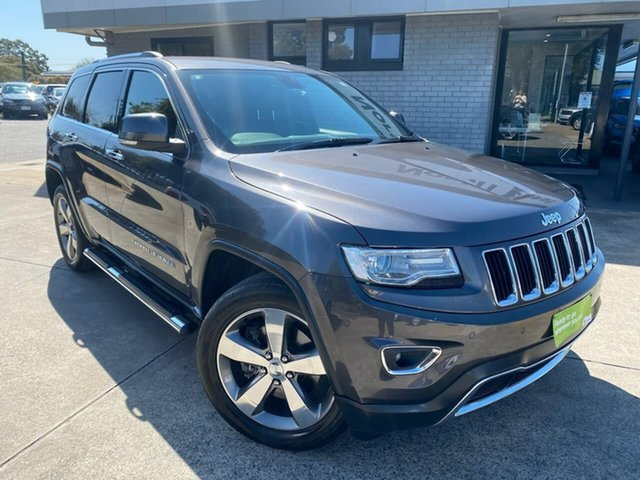 Used Jeep Grand Cherokee WK MY15 Limited Hillcrest, 2015 Jeep Grand Cherokee WK MY15 Limited Grey 8 Speed Sports Automatic Wagon
