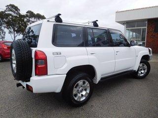 2005 Nissan Patrol GU IV MY05 ST White 4 Speed Automatic Wagon