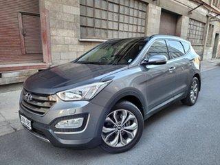 2014 Hyundai Santa Fe DM2 MY15 Highlander Grey 6 Speed Sports Automatic Wagon.