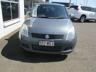 2006 Suzuki Swift EZ GLX (Qld) Grey 4 Speed Automatic Hatchback.
