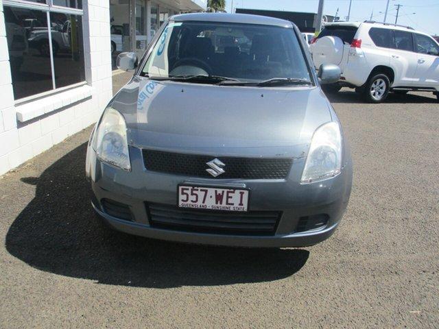Used Suzuki Swift EZ GLX (Qld) Bundaberg, 2006 Suzuki Swift EZ GLX (Qld) Grey 4 Speed Automatic Hatchback