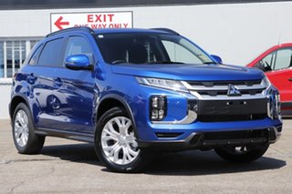 2021 Mitsubishi ASX XD MY21 ES Plus 2WD Lightning Blue 1 Speed Constant Variable Wagon.