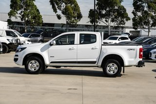 2018 Holden Colorado RG MY18 LS Crew Cab White 6 Speed Sports Automatic Cab Chassis