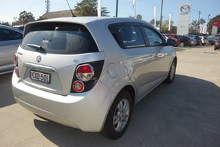2014 Holden Barina TM MY14 CD Silver, Chrome 6 Speed Automatic Hatchback