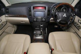 2012 Mitsubishi Pajero NW MY12 Exceed Bronze 5 Speed Sports Automatic Wagon