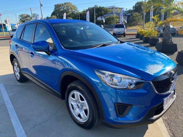 Used Mazda CX-5 KE1071 Maxx SKYACTIV-Drive Gladstone, 2013 Mazda CX-5 KE1071 Maxx SKYACTIV-Drive Blue 6 Speed Sports Automatic Wagon
