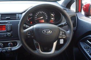 2014 Kia Rio UB MY14 S Red 6 Speed Manual Hatchback