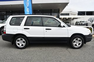 2007 Subaru Forester 79V MY07 X AWD Pure White 4 Speed Automatic Wagon