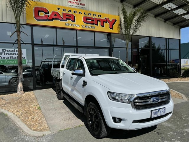 Used Ford Ranger PX MkII MY18 XLT 3.2 (4x4) Traralgon, 2018 Ford Ranger PX MkII MY18 XLT 3.2 (4x4) White 6 Speed Automatic Double Cab Pick Up