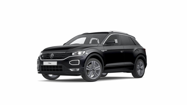 New Volkswagen T-ROC Sport Hamilton, 2021 Volkswagen T-ROC Sport Deep Black Pearl Effect Semi Auto SUV