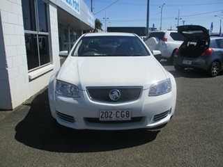 2012 Holden Commodore VE II MY12 Omega White 6 Speed Automatic Sedan.