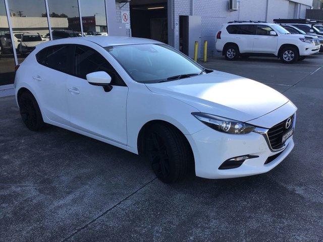 Pre-Owned Mazda 3 BN5478 Neo SKYACTIV-Drive Sport Cardiff, 2018 Mazda 3 BN5478 Neo SKYACTIV-Drive Sport White 6 Speed Sports Automatic Hatchback