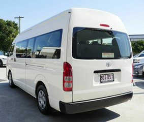 2015 Toyota HiAce KDH223R Commuter High Roof Super LWB White 4 Speed Automatic Bus