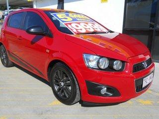 2015 Holden Barina TM MY16 X Red 5 Speed Manual Hatchback.