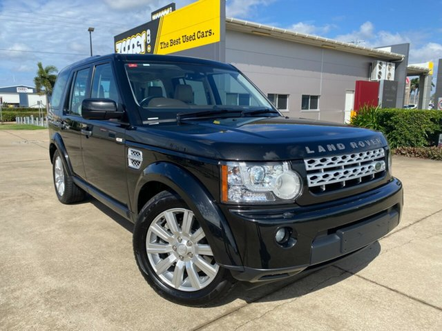 Used Land Rover Discovery 4 Series 4 L319 MY13 SDV6 SE Townsville, 2013 Land Rover Discovery 4 Series 4 L319 MY13 SDV6 SE Black 8 Speed Sports Automatic Wagon