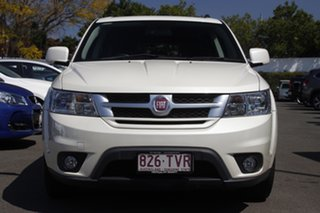 2014 Fiat Freemont JF Lounge White 6 Speed Automatic Wagon.