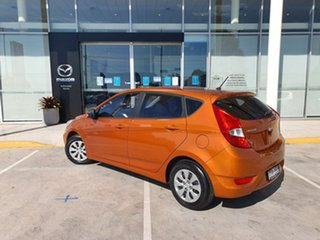 2015 Hyundai Accent RB2 MY15 Active Ge 4 Speed Sports Automatic Hatchback.