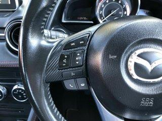 2014 Mazda 2 DJ2HA6 Genki SKYACTIV-MT Red 6 Speed Manual Hatchback