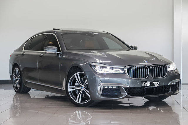 Used BMW 7 Series G12 740Li Steptronic , 2015 BMW 7 Series G12 740Li Steptronic Megellan Grey 8 Speed Sports Automatic Sedan