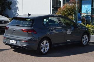 2021 Volkswagen Golf 8 MY21 110TSI Dolphin Grey 8 Speed Sports Automatic Hatchback.
