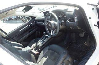 2017 Mazda CX-5 KF4WLA Touring SKYACTIV-Drive i-ACTIV AWD White 6 Speed Sports Automatic Wagon