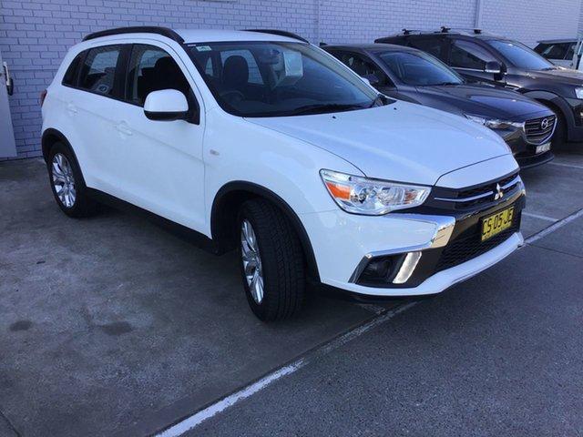 Used Mitsubishi ASX XC MY19 ES 2WD Cardiff, 2019 Mitsubishi ASX XC MY19 ES 2WD White 1 Speed Constant Variable Wagon