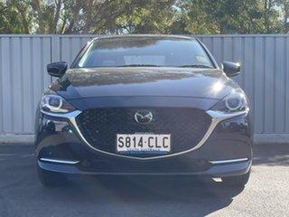 2021 Mazda 2 DJ2HAA G15 SKYACTIV-Drive GT Deep Crystal Blue 6 Speed Sports Automatic Hatchback.