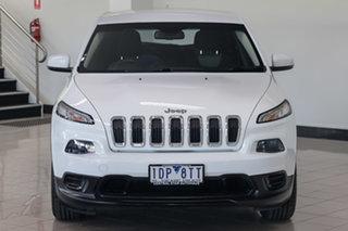 2014 Jeep Cherokee KL MY15 Sport White 9 Speed Sports Automatic Wagon