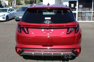 2021 Hyundai Tucson NX4.V1 MY22 Elite 2WD N Line Crimson Red 6 Speed Automatic Wagon