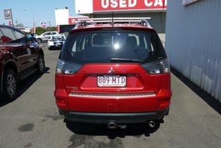 2009 Mitsubishi Outlander ZH MY10 LS Red 5 Speed Manual Wagon