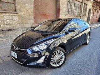 2015 Hyundai Elantra MD3 Active Phantom Black 6 Speed Sports Automatic Sedan.