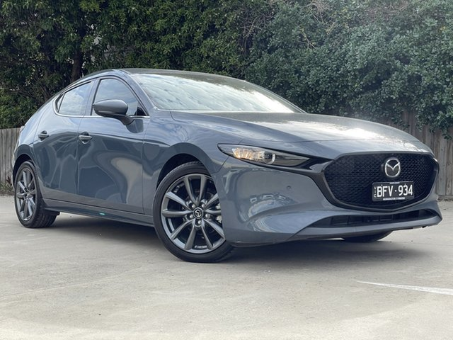 Used Mazda 3 BP2H7A G20 SKYACTIV-Drive Touring Mornington, 2019 Mazda 3 BP2H7A G20 SKYACTIV-Drive Touring 46g 6 Speed Sports Automatic Hatchback