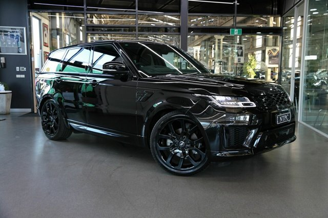 Used Land Rover Range Rover Sport L494 20MY HSE Dynamic North Melbourne, 2020 Land Rover Range Rover Sport L494 20MY HSE Dynamic Black 8 Speed Sports Automatic Wagon