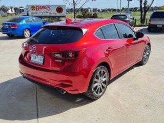 2018 Mazda 3 BN5438 SP25 SKYACTIV-Drive Astina Red 6 Speed Sports Automatic Hatchback.