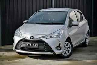 2018 Toyota Yaris NCP131R SX Silver 4 Speed Automatic Hatchback