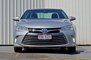 2016 Toyota Camry AVV50R Altise Silver 1 Speed Constant Variable Sedan Hybrid.