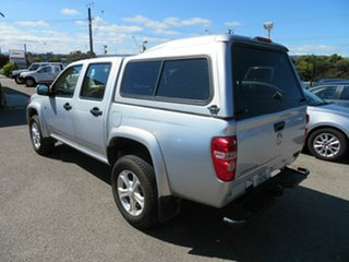 2009 Holden Colorado RC MY10 LX (4x4) Silver 5 Speed Manual Crew Cab Pickup