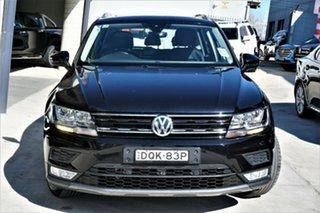 2017 Volkswagen Tiguan 5N MY17 132TSI DSG 4MOTION Comfortline Black 7 Speed.