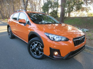 2018 Subaru XV G5X MY19 2.0i Lineartronic AWD Orange 7 Speed Constant Variable Wagon.