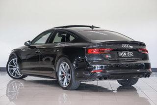 2018 Audi S5 F5 MY18 Sportback Tiptronic Quattro Mythos Black 8 Speed Sports Automatic Hatchback.